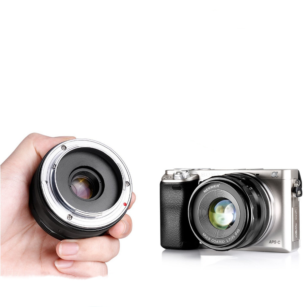 Neewer Fast objektiv 35mm f/1.7 SONY