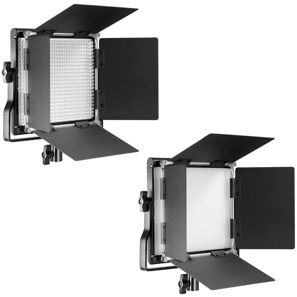 NEEWER Led belysning Studioljus Box