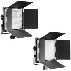 NEEWER Led belysning Studioljus Box