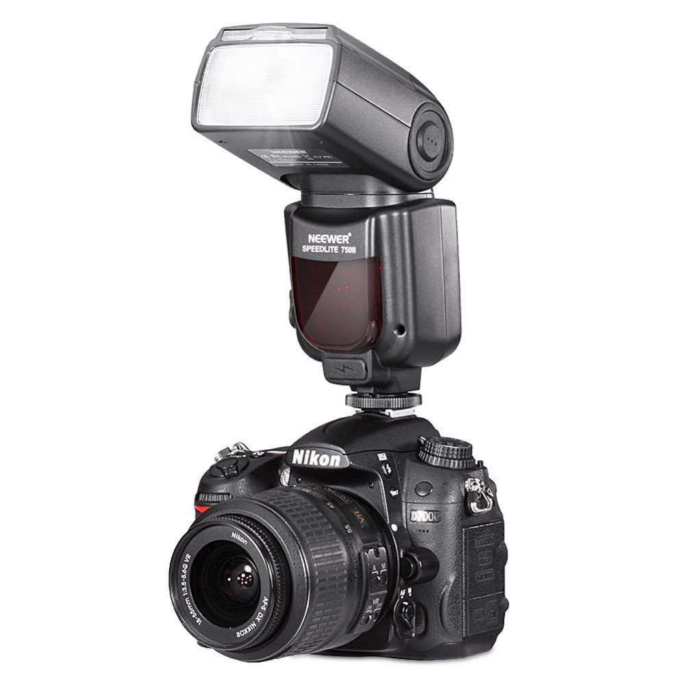 NEEWER 750II Kamerablixt NIKON DSLR display