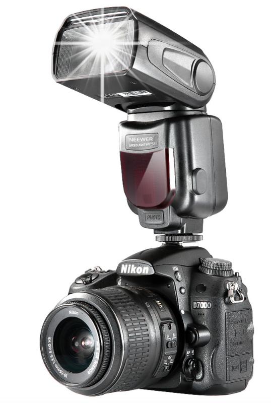 NEEWER NW-565 DSLR Kamerablixt till Nikon Diffuser