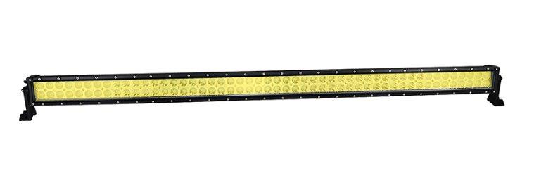 """LED-ljusramp 52"""" 300W ledramp gult ljus 6000K med fjärrkontroll"""