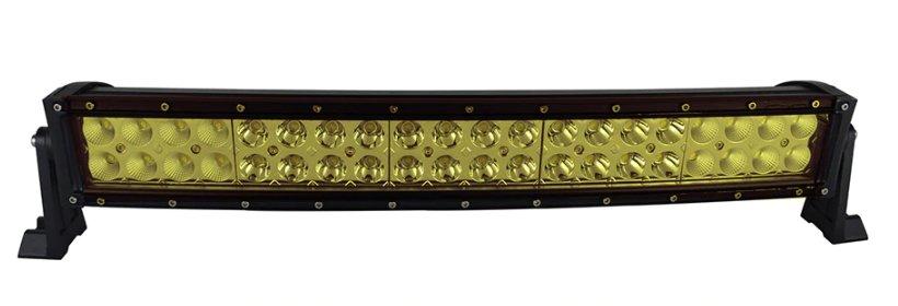 "LED-ljusramp 22"" 120W ledramp böjd gult ljus 6000K"