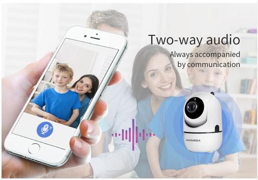 INQMEGA Trådlös Övervakningskamera 720P 32GB