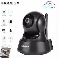 INQMEGA Trådlös Övervakningskamera 1080P svart 32 GB