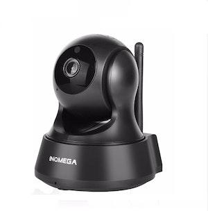 INQMEGA Trådlös Övervakningskamera 1080P svart 64 GB