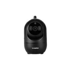 INQMEGA Trådlös Övervakningskamera 1080P SVART 16 GB