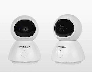 INQMEGA Trådlös Övervakningskamera 1080P Videosamtal 16 GB