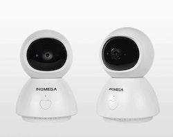 INQMEGA Trådlös Övervakningskamera 1080P Videosamtal 64 GB