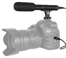 Mikrofon till kamera intervjumikrofon