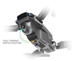 4K video drönare GPS SG907 tre batterier