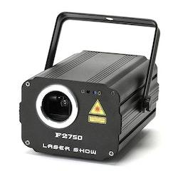 Laserljus party fest DMX 3 färger 60W Lasershow