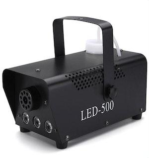 Rökmaskin disco Party fjärrkontroll inbyggd LED-belysning
