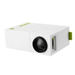 Mini-Projektor HDMI Trådlös batteridriven