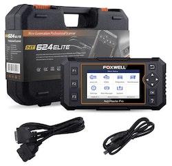 Foxwell NT624 Elite OBD2 EOBD felkodsläsare bil
