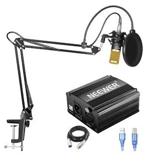 Neewer Mikrofon NW800 till studio med popfilter arm