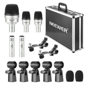 Neewer Mikrofonset för trummor 5 mikrofoner