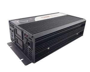 Strömomvandlare 1500w sinusvåg digital display 24V/100V
