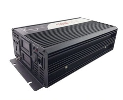 Strömomvandlare 1500w sinusvåg digital display 12V/220V