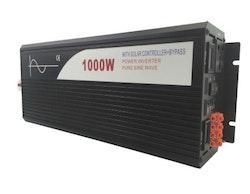 Strömomvandlare 1000w sinusvåg för solpaneler 24V/100V