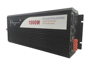 Strömomvandlare 1000w sinusvåg för solpaneler 12V/240V