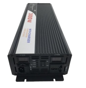 Strömomvandlare 3000W sinusvåg digital display 48V/240V