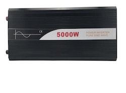 Strömomvandlare 5000W sinusvåg digital display 12V/240V