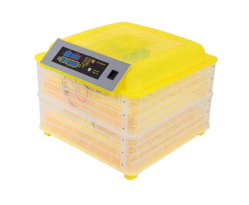 Äggkläckningsmaskin inkubator 112 ägg