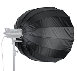 NEEWER Softbox 90cm studiobelysning portabel svart