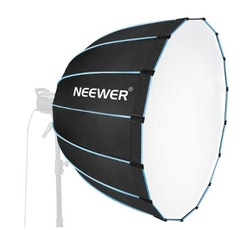 NEEWER Softbox 90cm studiobelysning portabel svart/blå