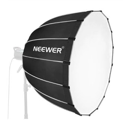 NEEWER Softbox 90cm studiobelysning portabel svart/grå