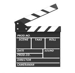 NEEWER filmklappa kritbräda 20x20cm