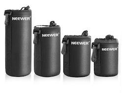 Neewer Vattentålig Objektivfodral Objektivväska kit svart