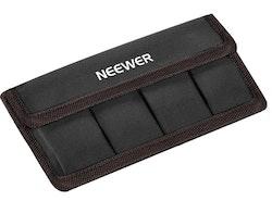Neewer Batteriväska Batterifodral Brun