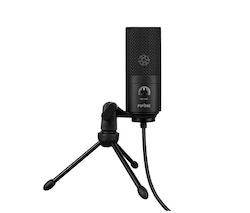 FIFINE USB Mikrofon till dator vlog content svart