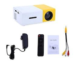 Mini-Projektor 1080P SD-kort läsare