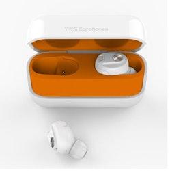 True Wireless Hörlurar Bluetooth 5.0 Brusreducering Vit