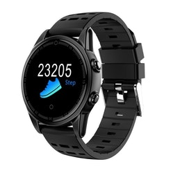 Smartklocka pulsklocka fitness tracker aktivitetsarmband svart