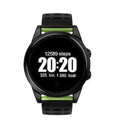 Smartklocka pulsklocka fitness tracker aktivitetsarmband grön