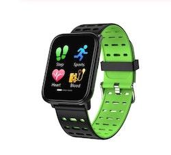 Aktivitetsarmband pulsklocka fitness tracker grön