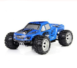 Radiobil RC 50 km/h Eldriven Monstertruck 2 Extrabatterier blå