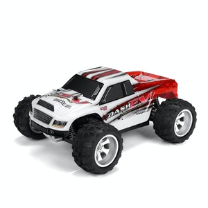 Radiobil RC 75km/h Eldriven Rally Monstertruck 2 Extrabatterier