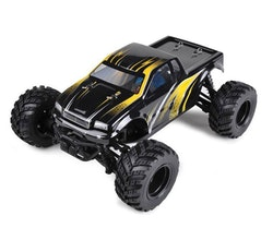 Radiostyrd Bil RC Truck 70km/h Eldriven Rally Monstertruck Gul