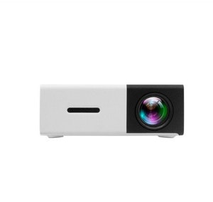 Mini-Projektor 1080P SD-kort svart