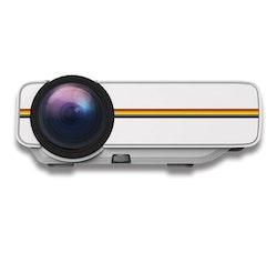 Mini-Projektor SD-kort vit