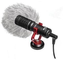 Mikrofon video kamera smartphone puffskydd