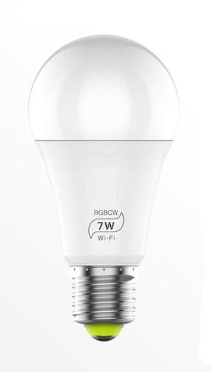 Smartlampa 2-pack dimbar 7 W röststyrning Alexa Google Home