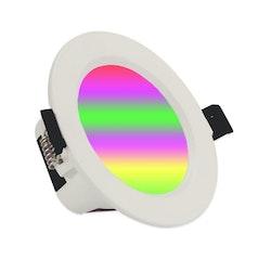 Smart downlight dimbar 6pack 7 W röststyrning Alexa Google Home