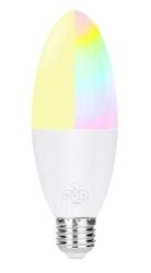 Smartlampa dimbar 6W 2pack röststyrning Alexa Google Home