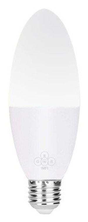 Smartlampa dimbar 6W 4pack röststyrning Alexa Google Home